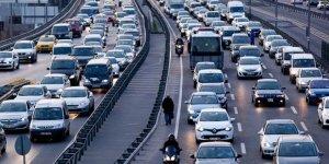 Araç sayısı 23 milyona dayandı