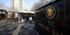 Türkiye ABD'nin PYD/PKK'yı ordulaştırma çabasını kınadı