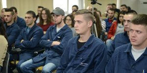 Bosnalı gençler meslek öğrendi