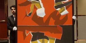 Burhan Doğançay'ın tablosu 850 bin liraya satıldı