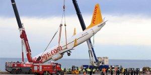 Pistten çıkan uçak 5 gün sonra kurtarıldı