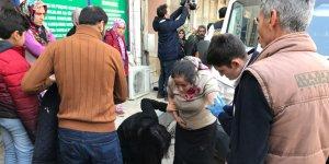 Bursa'da yangın: 10 kişi zehirlendi