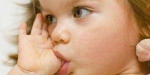 Parmak emme alışkanlığının zararları