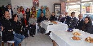 Müezzinoğlu Mudanya'da vatandaşlarla buluştu