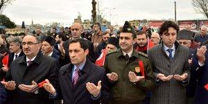 Gazilerden Mehmetçiğe destek yürüyüşü