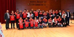 Kestel'de Mehmetçiğe uğurlama töreni
