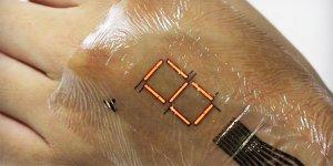 'Elektronik deri' üretildi