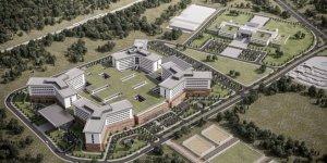 Şehir Hastanesi inşaatı büyük hızla ilerliyor! Vali Küçük açılış için tarih verdi...