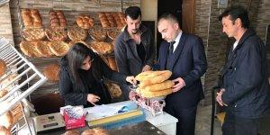 Büyükorhan'da ekmek fırınlarına denetleme