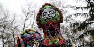 Maskelerle 'kötü ruhları' kovdular