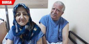 40 yıllık eşini böbreğiyle hayata bağladı