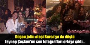 Düşen jetin ateşi Bursa'ya da düştü