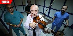 'Kalp damar cerrahisi'nin müzisyen doktorları