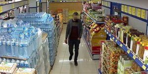 Bursa'da marketten bıçaklı gasp