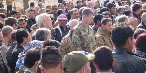 ABDli komutanlar terörist cenazesine katıldı
