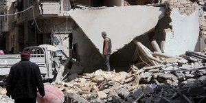 Esad rejimi Doğu Guta'yı bombalamaya devam ediyor
