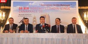 20 bin başarılı öğrenci Çanakkale'ye gidecek
