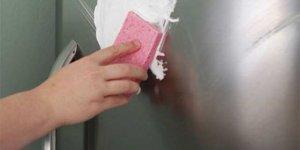 Buzdolabını tıraş köpüğüyle silerseniz..