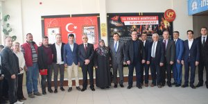 Şehit Hikmet Aktaş Ortaokulu'nda 'şehitler köşesi' açıldı