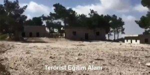 YPG/PKK'nın 'çocuk savaşçıları' eğittiği kamp görüntülendi