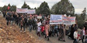 Köylülerden 'biyokütle enerji santrali' eylemi