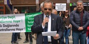 İznik'te RES protestosu