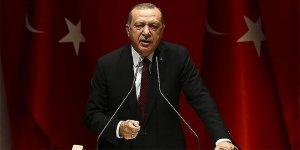 Erdoğan'dan Macron'a: Haddini ve boyunu aşan beyan