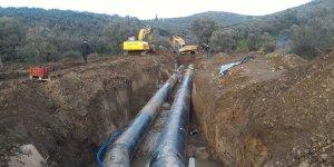 Gemlik içme suyu projesine devam