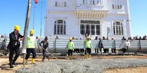 Mudanya Mütareke Meydanı projesinde ilk harç