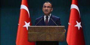 Hükümet Sözcüsü Bozdağ'dan, Bahçeli'nin erken seçim çağrına yanıt