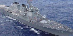 ABD gemisi Suriye'ye hareket etti, Rus jetleri havalandı