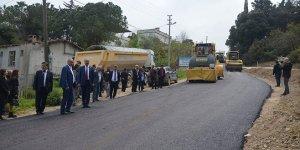 Yalıçiftlik'e Mudanya Belediyesi'nden asfalt