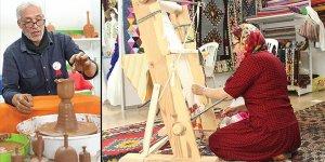 Geleneksel el sanatları Bursa'da buluşuyor