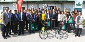 Osmangazi'den kilo verene bisiklet hediye