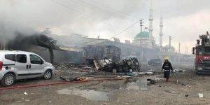 Sanayi sitesinde patlama: 1 ölü, 16 yaralı