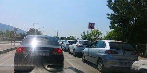 Trafikte bahar eziyeti