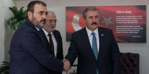 AK Parti Sözcüsü Ünal ile Destici görüştü
