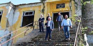 Gemiç'in Taş Mektebi restore ediliyor