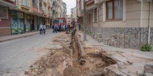 Karacabey'de altyapıçalışmaları sürüyor