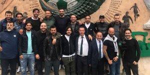 Bursaspor'un şampiyon kadrosu buluştu