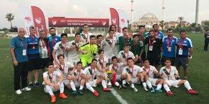 U16 Timsah Türkiye şampiyonu