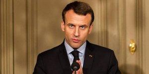 Macron'a bağış soruşturması