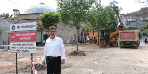 Yenişehir'de meydan düzenlemesi