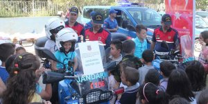Jandarmadan çocuklara eğitim
