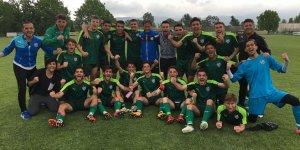 Bursaspor U19 ikinci oldu