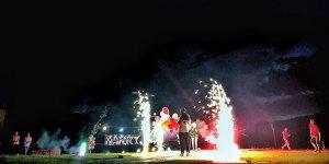 Gürsu Adrenalin Park'da renkli nikah töreni