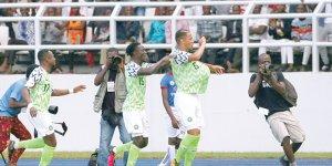Nijerya'nın tek golü Ekong'tan