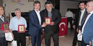Yenişehir'de esnafa teşekkür plaketi