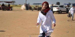 Gazze'nin 'yardım meleği' son yolculuğuna uğurlandı