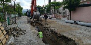 Büyükorhan'da altyapı çalışmaları başladı